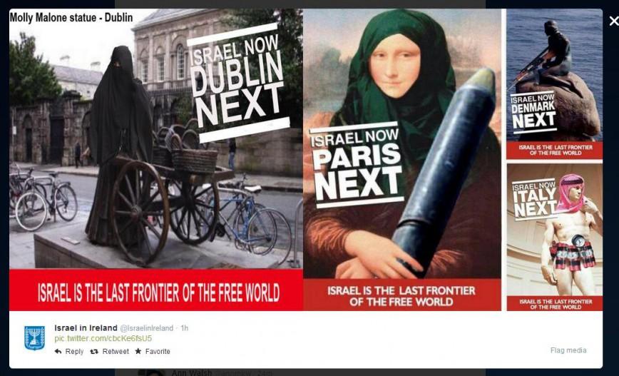 bizarre-israel-ireland-tweet