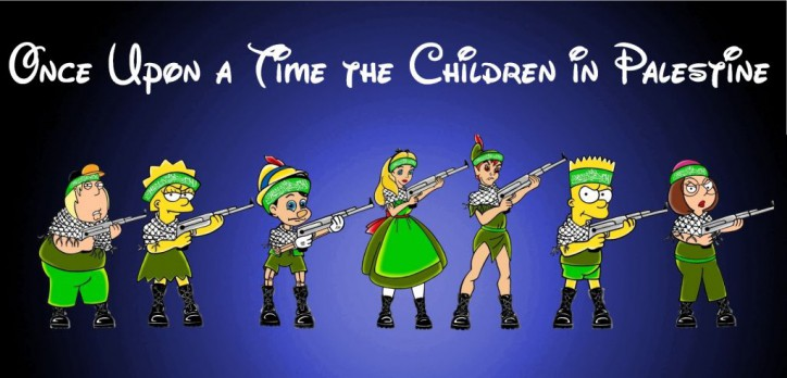 Stop-Hamas-Child-Abuse-Art-Campaign-Children-Palestine-Gaza-Israel-War-Jewish-Middle-East-Terrorism-Human-Rights-Awareness-Poster-Cartoons-Iconic-Disney-Humor-Chic-aleXsandro-Palombo-1