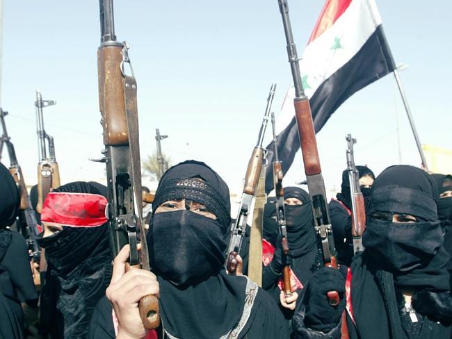 Yihadistas femeninas en Siria