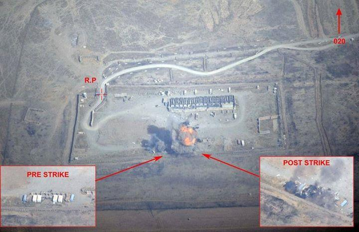 Two Rafales, one C-135FR Tanker were involved in a 7-hour mission from Al Dhafra to Iraq (1,700 kilometers) to destroy an ISIS  target in northern Iraq on Sept. 19. Four GBU-12 LGB (Laser-Guided Bombs) were dropped by the two multi-role planes to hit a munition and fuel depot near the town of Zumar.