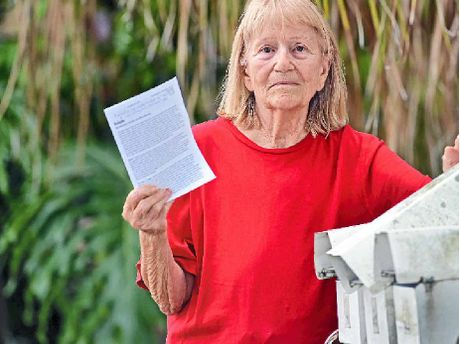 Jacquie Dubois-Stanton was shocked to find Islamic hate mail in her letterbox this week.
