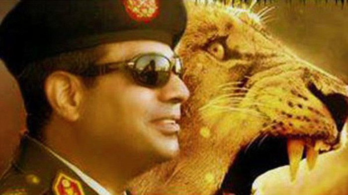 President Abdul Fattah el-Sisi has wide popularity and is fondly known as the lion of Egypt