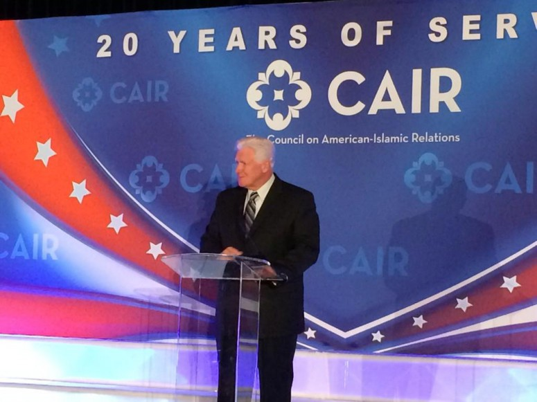 Jim Moran not only receives money from terrorism tied Middle East sources, he is a contributor to Hamas-linked CAIR