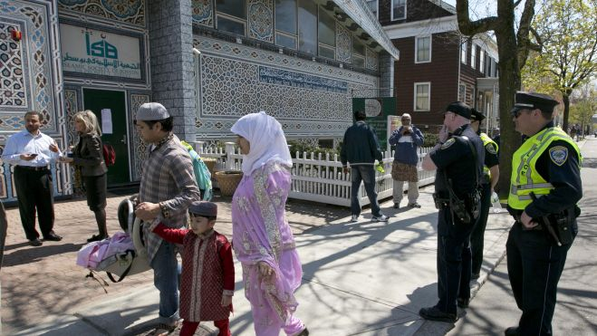 Boston Bomber's mosque