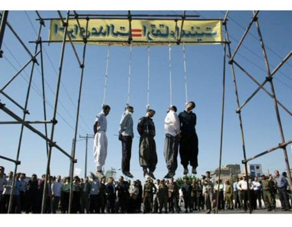 What they do with Gays in Iran