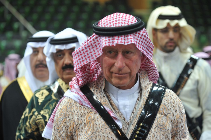 SAUDI-BRITAIN-ROYALS-DIPLOMACY