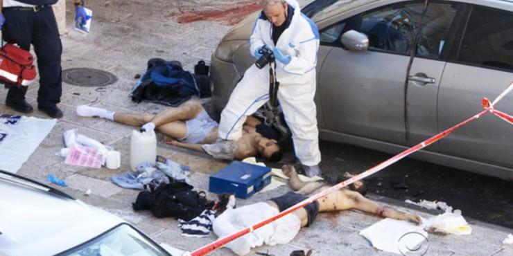 Dos muertos escoria terrorista musulmán
