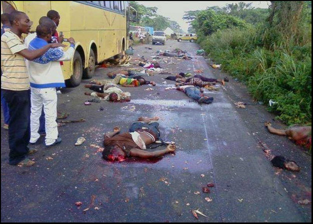 Christians slaughtered in the streets of Nigeria just for being Christians