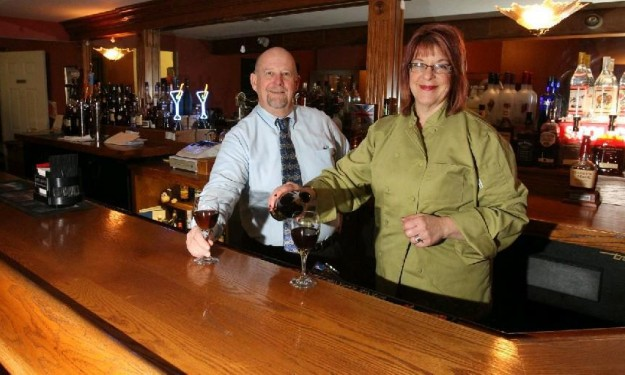 Owners Suzanne and Kevin Guenther, the scum who sold the restaurant to the enemy