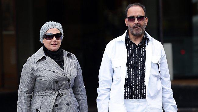 Sheikh Haron and girlfriend, Amirah Droudis, 34