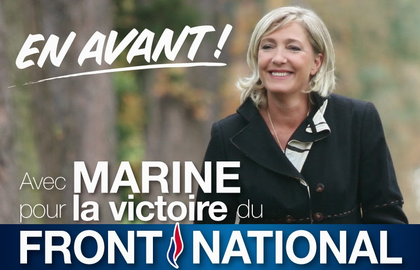 Marine Le Pen says schools in towns run by her National Front party will stop serving non-pork alternatives to Muslim children