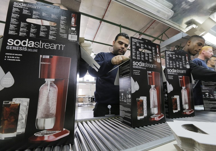 Palestinian Arab workers employed at Soda Stream