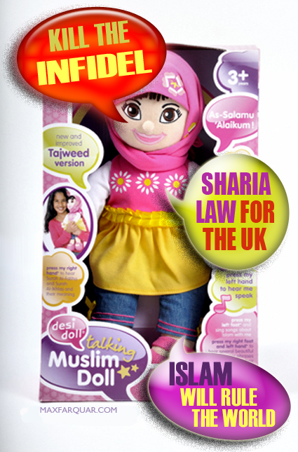 muslim-talking-doll