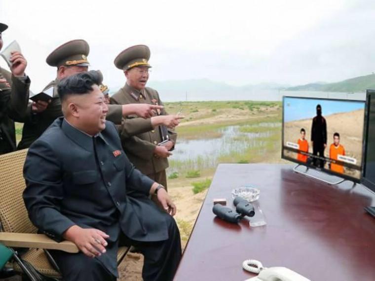 North Korean leader Kim Jong Un is loving it!
