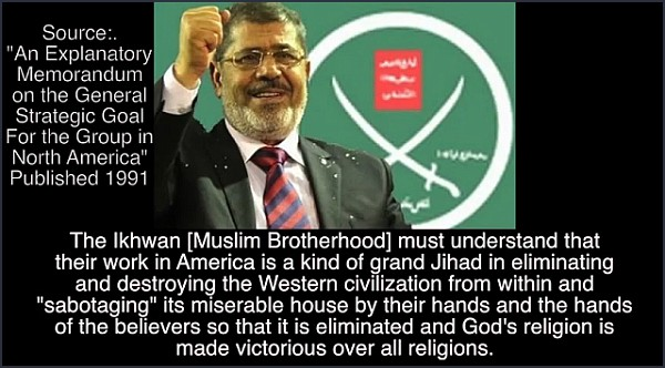 Ousted Egyptian president Mohamed Morsi