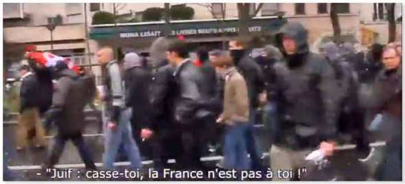 """Jews should flee, France isn't for you"""