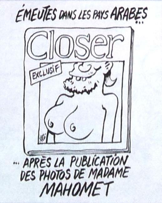 TITULO: DISTURBIOS EN LOS PAÍSES ÁRABES ... DESPUÉS DE LA PUBLICACIÓN DE MADAME MOHAMMED DE FOTOS