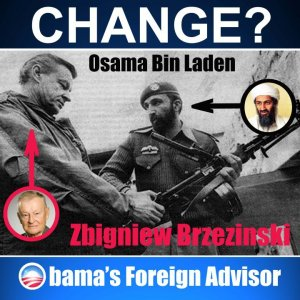 zbigniew brzezinski with Osama bin Laden