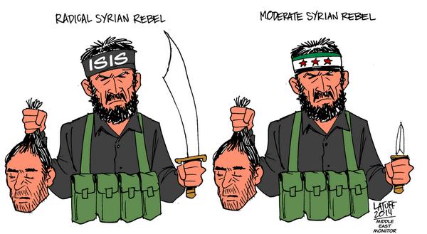 """Obama es el entrenamiento y la financiación denominada rebeldes Syran """"moderados"""""""