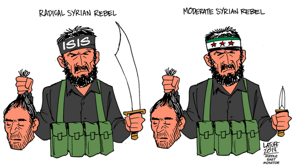 """Obama is training and funding so-called """"moderate"""" Syran rebels"""
