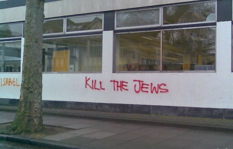 Islámico-Judio-odio-antisemitismo