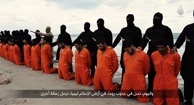 21 Egyptian Coptic Christians beheaded by ISIS