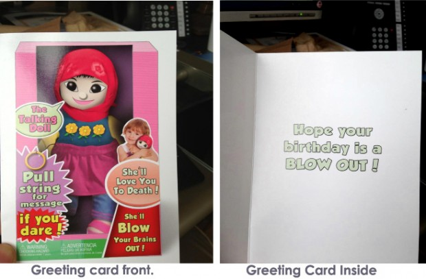 Is this your child's favorite birthday card?