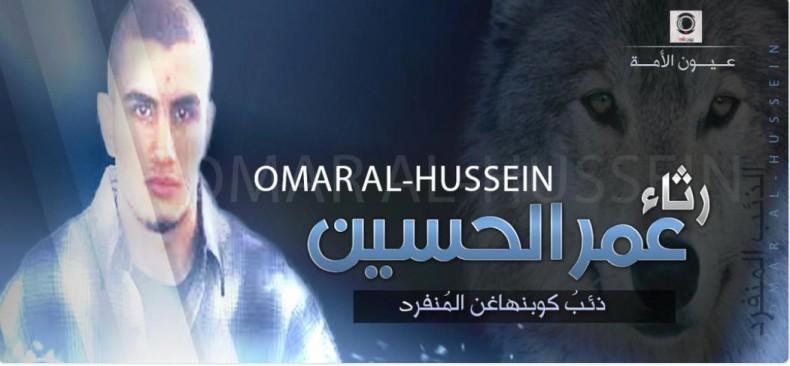 Omar Al-Hussein.  El Lobo Solitario De Copenhague.