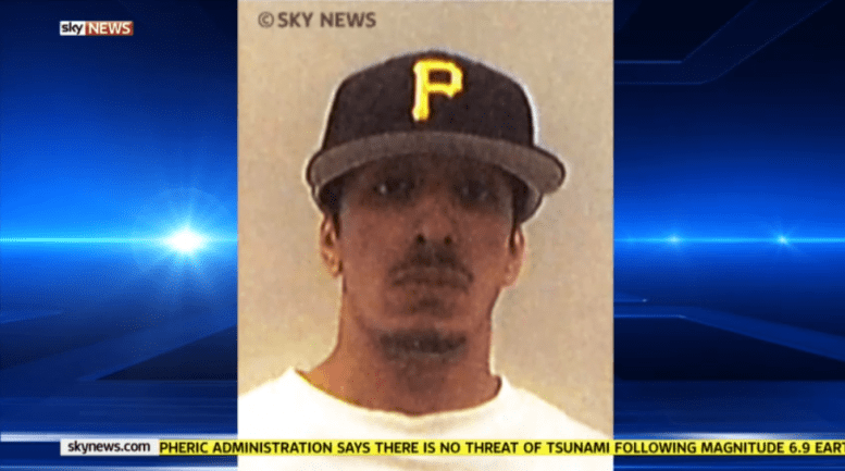 Sky News has broadcast this picture, claiming it is an image of Mohammed Emwazi from his time at the University of Westminster.