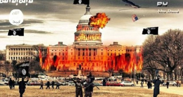 Image result for picture of u.s. capitol bombed
