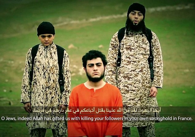 ISIS have got a kid to execute the 'Israeli spy'