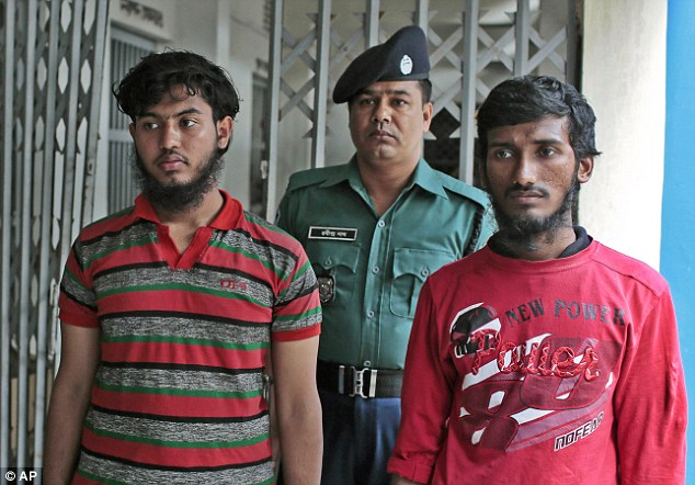Jikrullah and Ariful Islam, two of the three attackers suspected of killing blogger Washiqur Rahman Babu