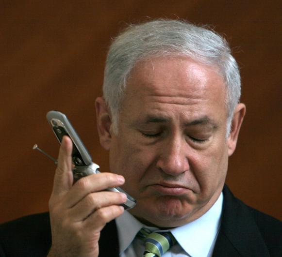 NetanjahuHandy