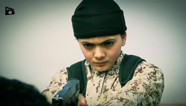 ISIS Child executioner