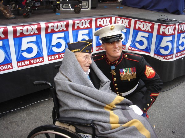 Oldest and Youngest living Medal of Honor recipients Nicolas Oresko and Dakota Meyer