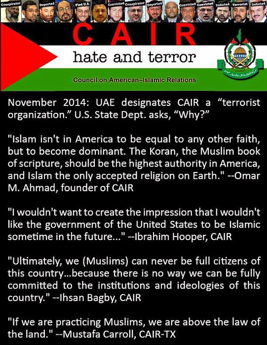 Keith Ellison Muslim Brotherhood Cair