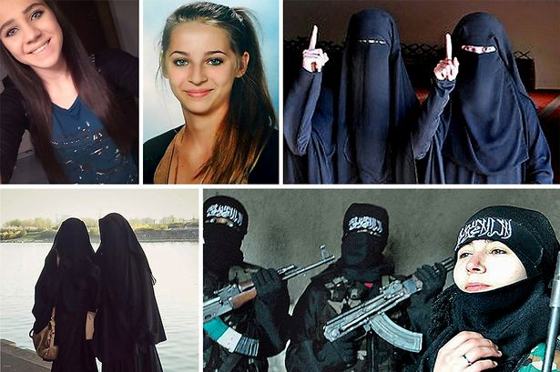 Several Muslim girls from the UK are now jihadi brides