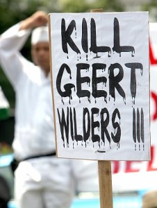 Demonstration gegen Wilders-Film in Jakarta