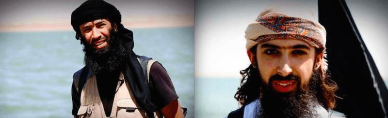 Islamic State suicide bombers Abu Abdul Aziz al Firansi and and Abu Maryam al Firansi (aka Kevin Chassin)