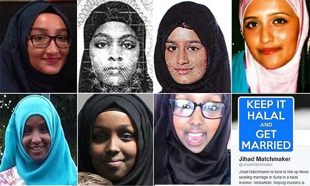 Several Western girls recruited by ISIS
