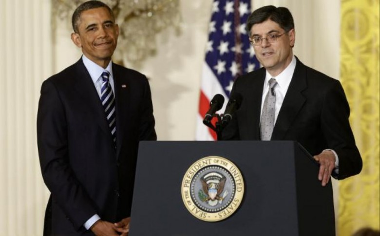 Barack Hussein Obama and buddy Jack Lew