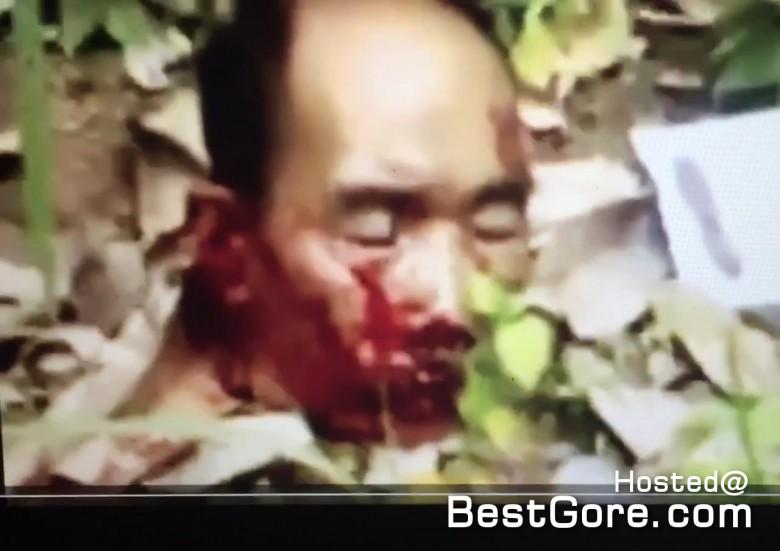 ancianos de hombre decapitado-islámico-insurgentes-sur-Tailandia