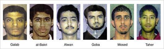 LACKAWANNA SIX MUSLIM TERRORISTS