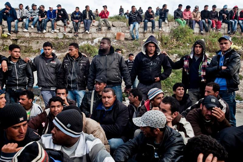 Italia - Crisis de Inmigración Ilegal en Lampedusa