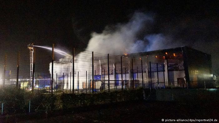 Germans are burning down buildings identified as asylum seeker housing