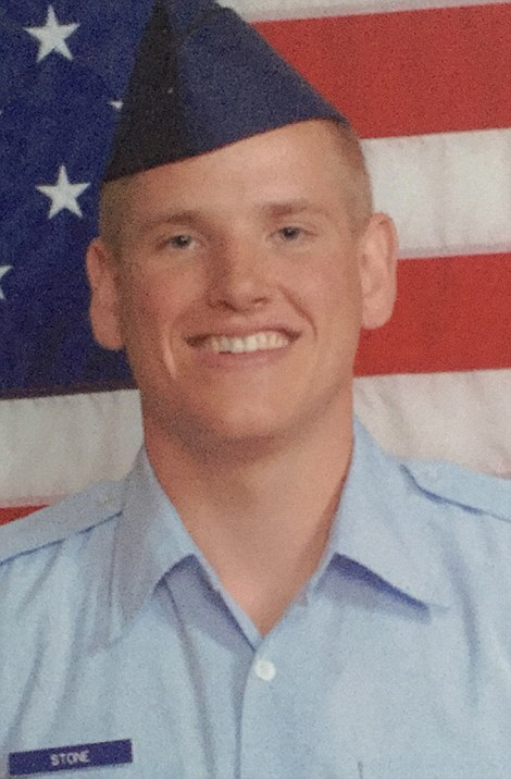 Spencer Stone, of the U.S. Air Force