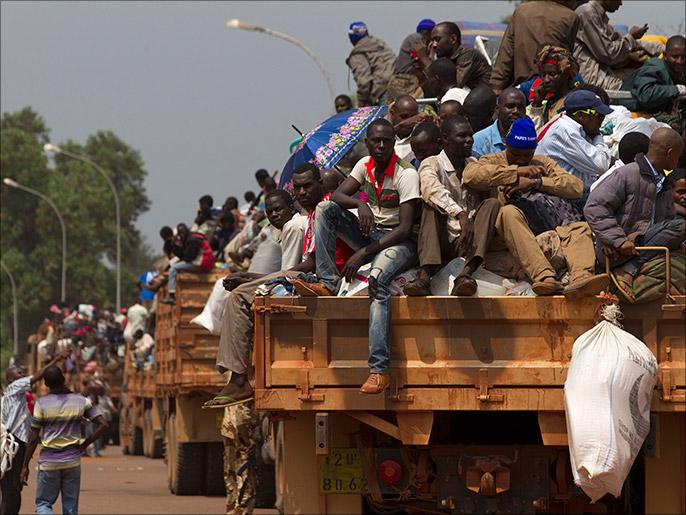 Muslims fleeing CAR