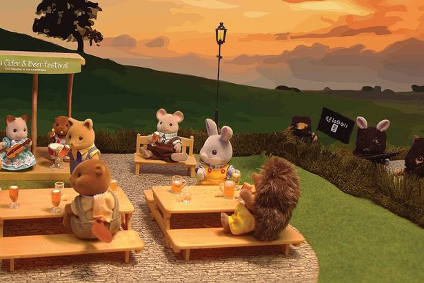 Artwork-showing-Sylvanian-Families-terrorised-by-Isis-banned-from-free-speech-exhibition
