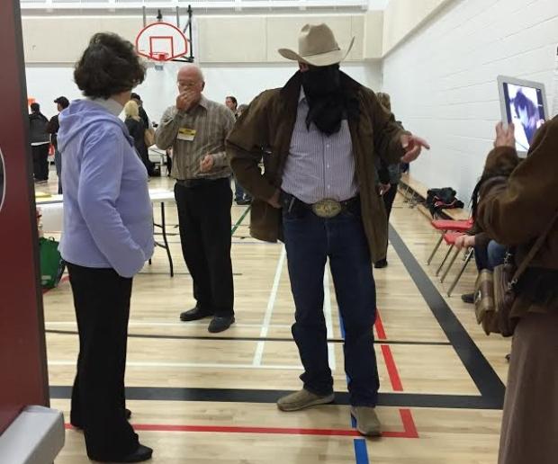 cowboy-at-polling-station