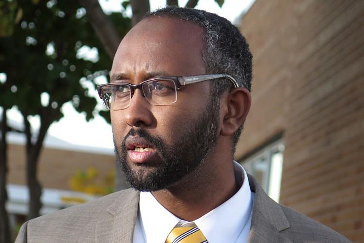 SOMALI MUSLIM Jaylani Hussein of designated terrorist group CAIR-MN